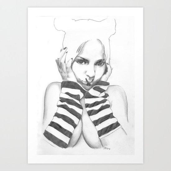 sleeves Art Print