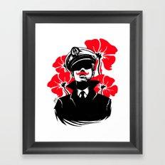 Oh capitán! Framed Art Print