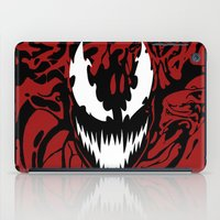 carnage iPad Cases featuring carnage by Rebecca McGoran