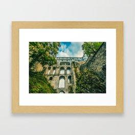 Cesky Krumlov gate Framed Art Print