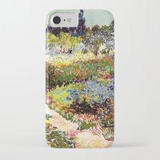 Vincent Van Gogh Flowering Garden Slim Case iPhone 7