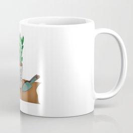 """""""Lucky"""" Bamboo Coffee Mug"""