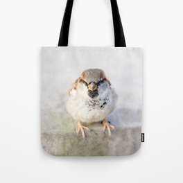 Don't Mess With Sparrows Tote Bag