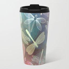 Dragonfly Dance Travel Mug