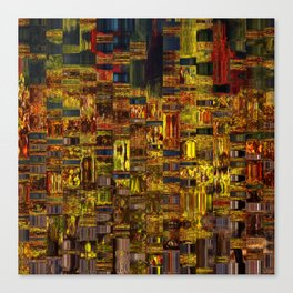 Colors of the City Canvas Print