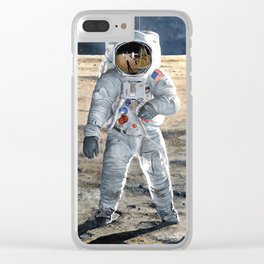For All Mankind Clear iPhone Case
