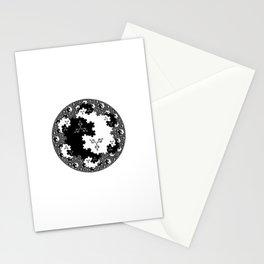 Fractal Taijitu Stationery Cards