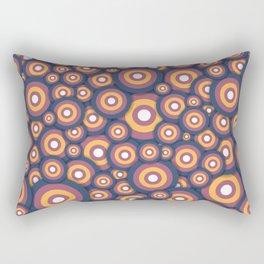 Circle World Rectangular Pillow