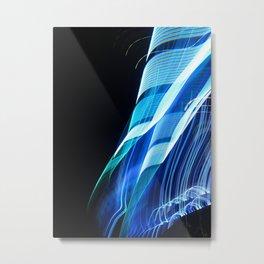 Smooth light art photography Metal Print
