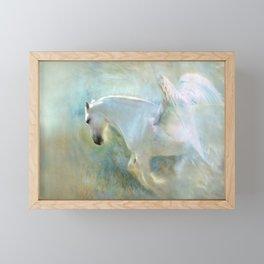 Angelic Horse Framed Mini Art Print