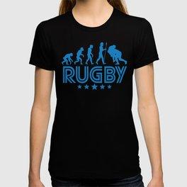 Retro Rugby Evolution T-shirt