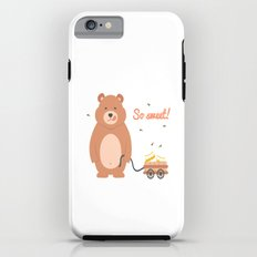 Lovely Mama Bear With Honey Tough Case iPhone 6