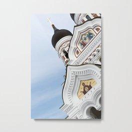 Alexander Nevsky Cathedral Tallinn, Estonia Metal Print