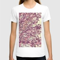 sofa T-shirts featuring floral sofa by vibeyantlers
