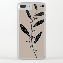 Dysentery Bush (also known as Emu Berry or Paper Berry) - Grewia retusifolia Clear iPhone Case