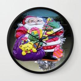 Seasonal Santa Wall Clock