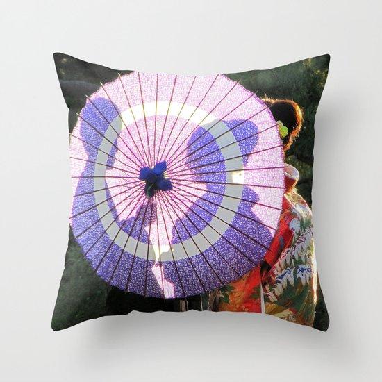 Tokyo Mon Amour Throw Pillow