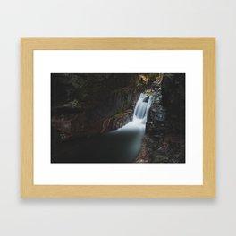 Sabbaday Falls - New Hampshire, USA Framed Art Print