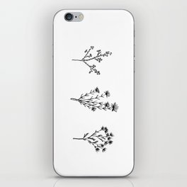 Wildflower Trio iPhone Skin