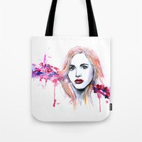 lydia martin Tote Bags featuring Lydia Martin by Sterekism