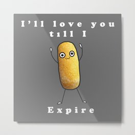 Twinkie Love Metal Print