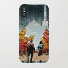 Seeking Suburbia iPhone X Slim Case
