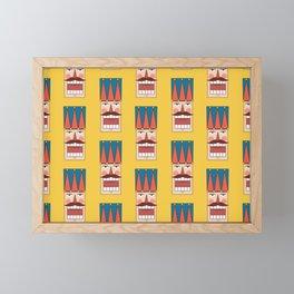 Nutcracker Army 01 (Patterns Please) Framed Mini Art Print