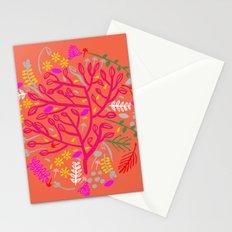Folk Tree Stationery Cards