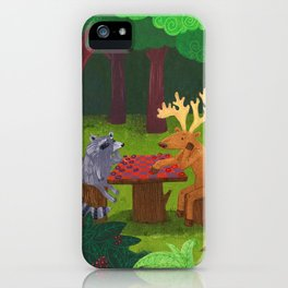 The Forest iPhone Case