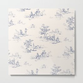Animal Jouy Metal Print