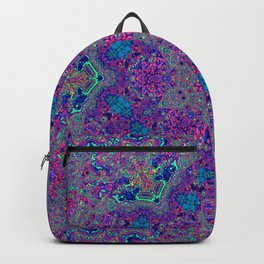 Oil Spill to Flower Backpack