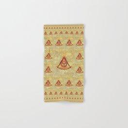 Freemason Symbolism Hand & Bath Towel