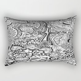 Calling Out Rectangular Pillow