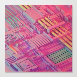 iLusion Canvas Print