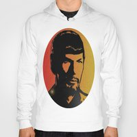 spock Hoodies featuring Spock by SVA🌺
