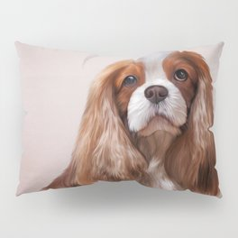 Dog breed Cavalier King Charles Spaniel Pillow Sham