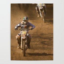 Dusty race Poster