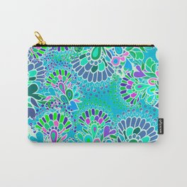 Turquoise fantasy. Carry-All Pouch