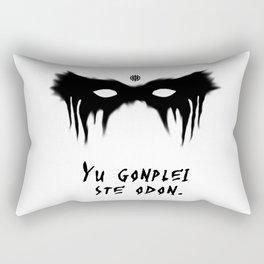Your Fight Is Over (Trigedasleng) Rectangular Pillow