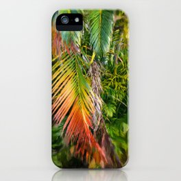 Palm Glow 2 iPhone Case