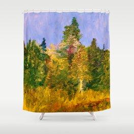 Autumn Meadow Crane Flat (Yosemite) Shower Curtain
