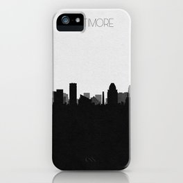 City Skylines: Baltimore iPhone Case