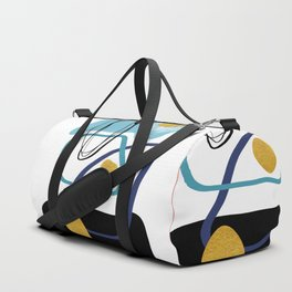 Modern minimal forms 10 Duffle Bag