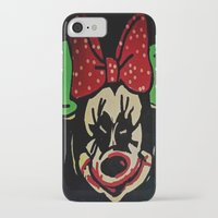 minnie mouse iPhone & iPod Cases featuring Minnie Mouse by Jide
