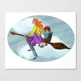 Ginny in flight Canvas Print
