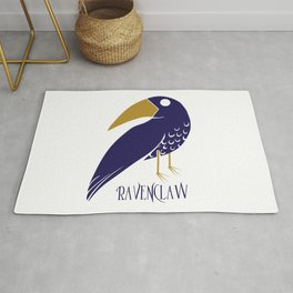 Cute and Smart Ravenclaw Rug