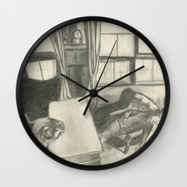Suicide Pact Wall Clock
