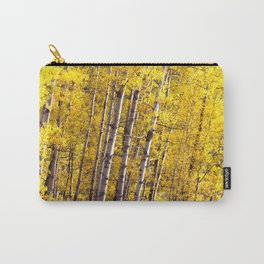 Yellow Grove of Aspens Carry-All Pouch