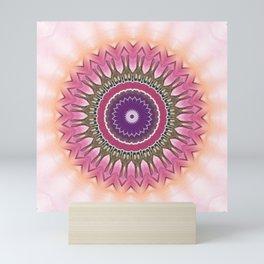 Mandala mood enhancer Mini Art Print