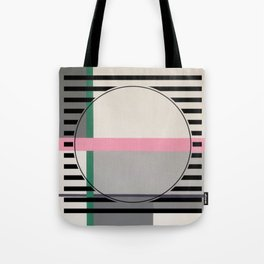 Green line - line graphic Tote Bag